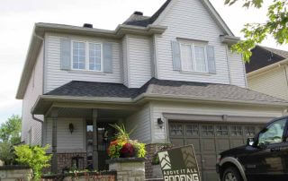50 year shingle roof installation