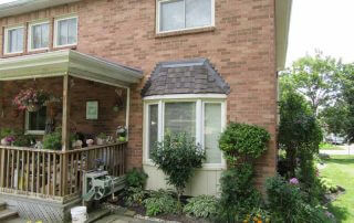 Baywindow shingle repair Brampton