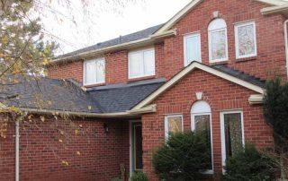 Moire black Brampton install roof