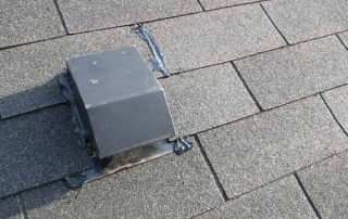 Roof bathroom damper