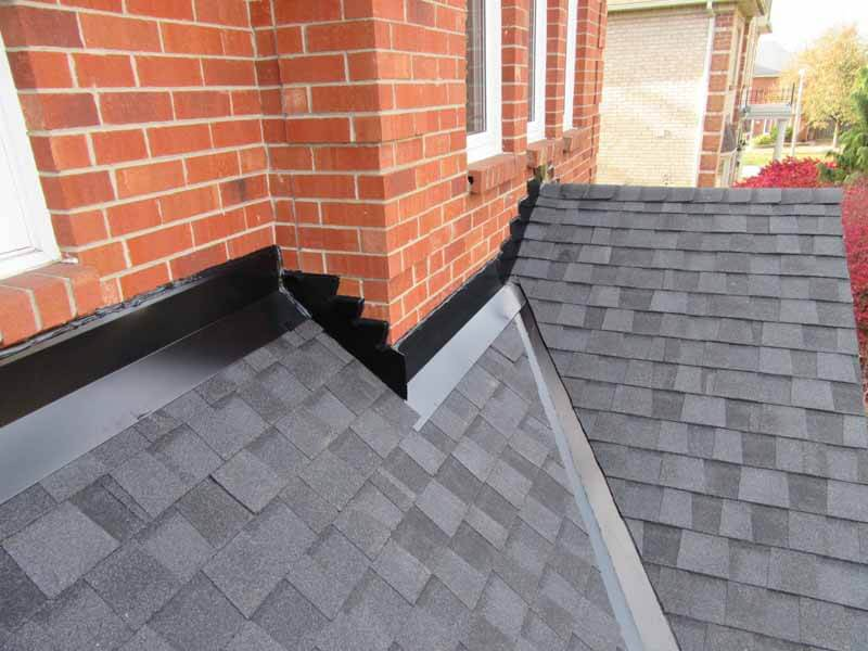 Roof wall repair