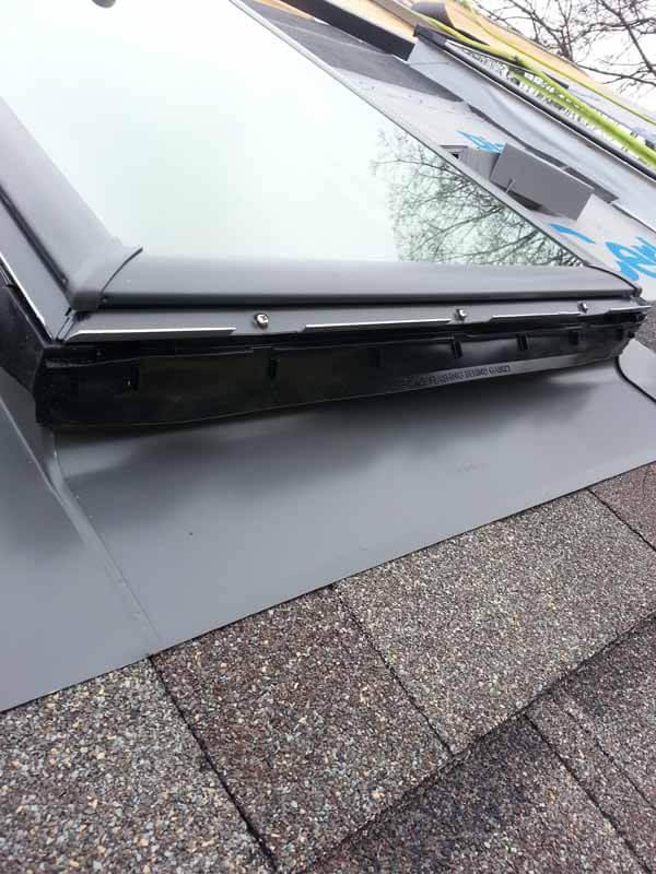 roof velux skylight